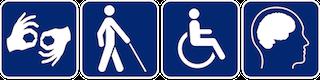 Disability symbols (logo)